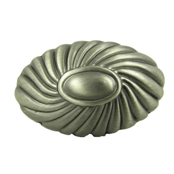 Stone Mill Hardware 'Sienna' Weathered Nickel Cabinet Knobs (Pack of 10)
