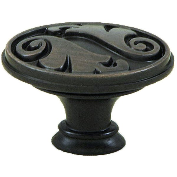 Stone Mill Hardware 'Oakley' Oil Rubbed Bronze Cabinet Knobs (Pack of 10)