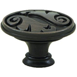 Stone Mill Hardware 'Oakley' Oil Rubbed Bronze Cabinet Knobs (Pack of 5)