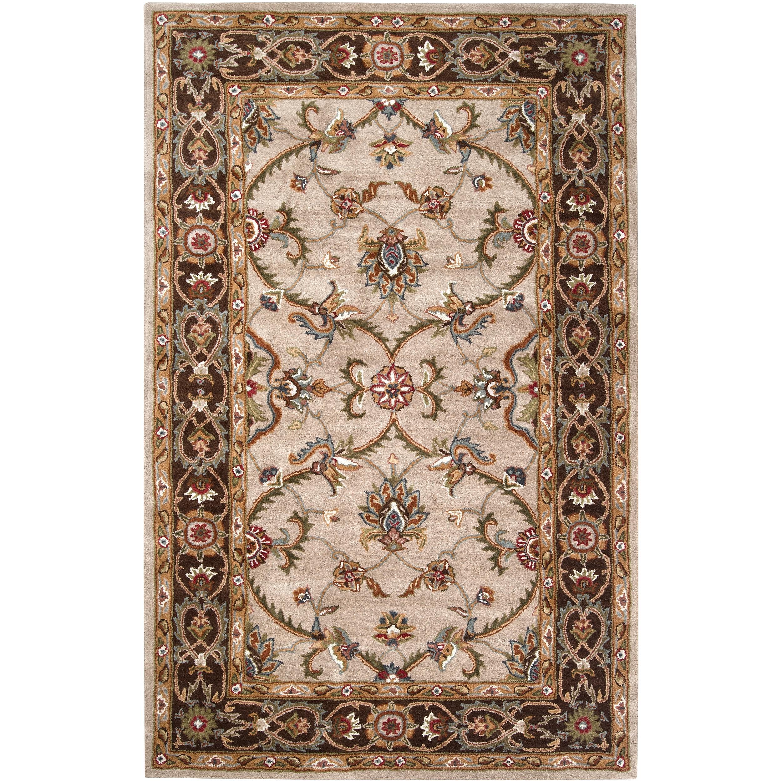 Hand-tufted Garretson Wool Rug (8' x 10')
