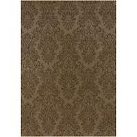 "Hand-knotted Menno New Zealand Wool Area Rug - 5'6"" x 8'6"""