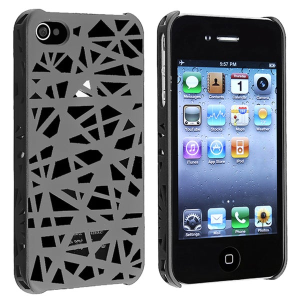 Smoke Bird Nest Rear Snap-on Case for Apple iPhone 4/ 4S