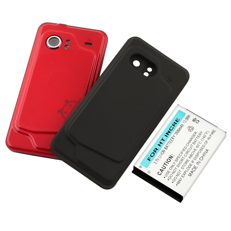Compatible Extended Li-ion Battery with Cover for HTC Droid Incredible