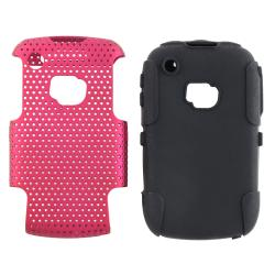 Hybrid Case/ Screen Protector for Blackberry Curve 9300