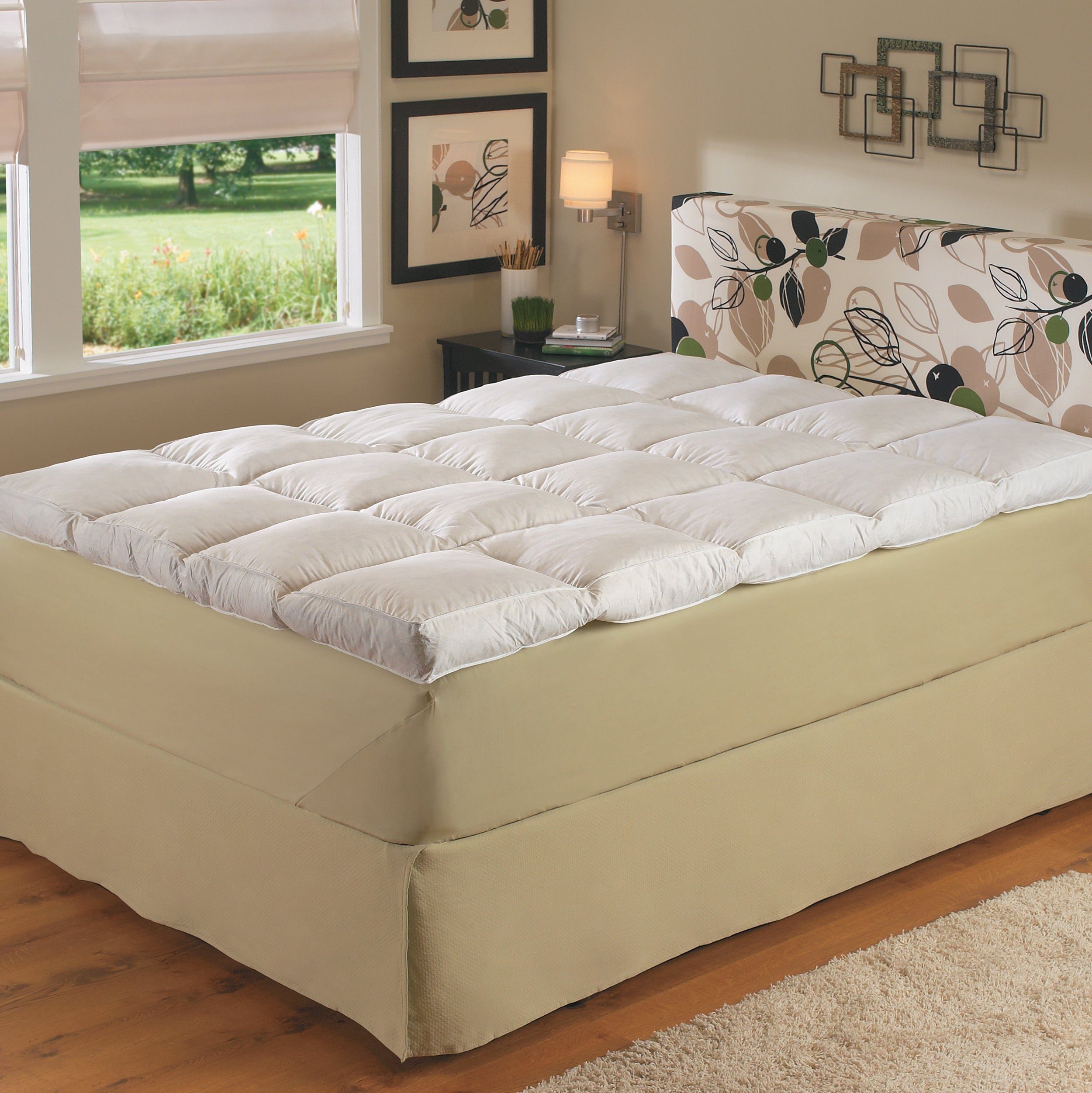 Deep Support 4-inch Side Gusset Featherbed