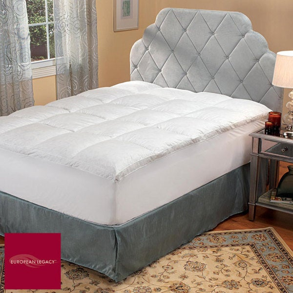 european legacy luxury support baffle box featherbed