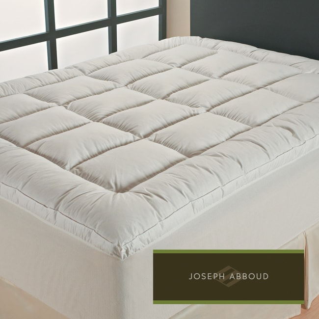 Joseph Abboud Classic Even Support No Shift Microfeather Queen/ King/ Cal King-size Featherbed