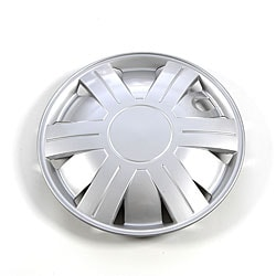 Silver 14-Inch ABS Plastic Hub Caps (Set of Four) - Thumbnail 0