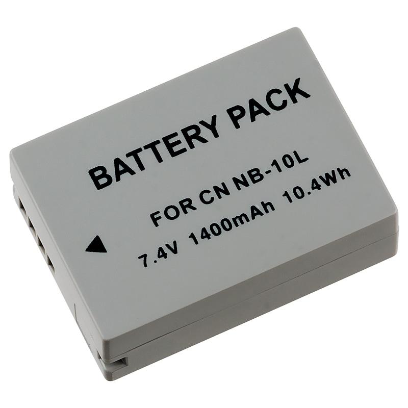 INSTEN Canon NB-10L Compatible Li-Ion Battery for PowerShot SX40 HS