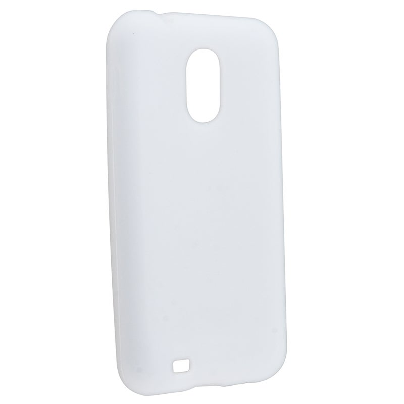 White Silicone Skin Case for Samsung Epic 4G Touch D710