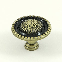 Stone Mill Hardware 'Acapulco' Brushed Antique Brass Cabinet Knob (Pack of 25)