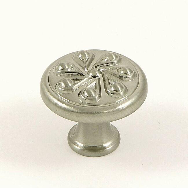 Stone Mill Hardware 'Milton' Satin Nickel Cabinet Knob (Pack of 10)