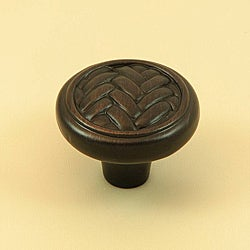 Stone Mill Hardware Harris Oil-rubbed Bronze Cabinet Knobs (Case of 25)
