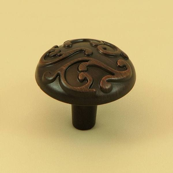 Stone Mill Hardware Oil Rubbed Bronze Ivy Cabinet Knobs (Pack of 10)