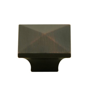 Stone Mill Hardware Oil Rubbed Bronze Cairo Cabinet Knobs (Pack of 10)