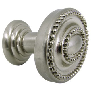 Stone Mill Hardware Satin Nickel Ashton Cabinet Knob (Pack of 10)