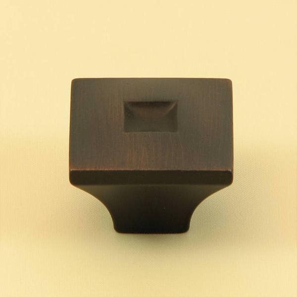 Stone Mill Hardware 'Spade' Oil Rubbed Bronze Cabinet Knobs (Pack of 10)