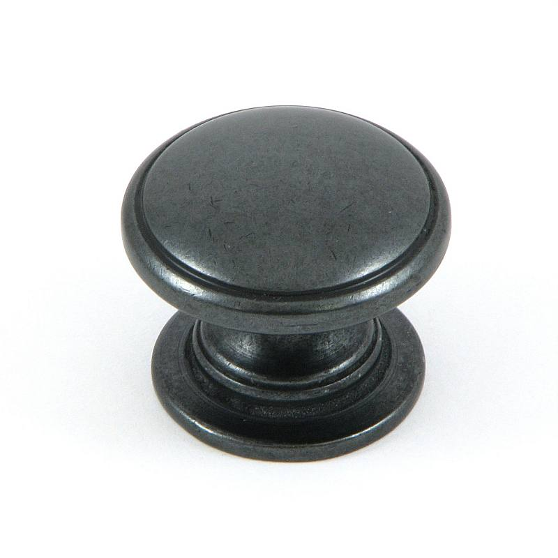 Stone Mill Hardware 'Saybrook' Antique Black Cabinet Knobs (Pack of 10)