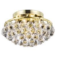 Somette Gold 4-Light Chandelier