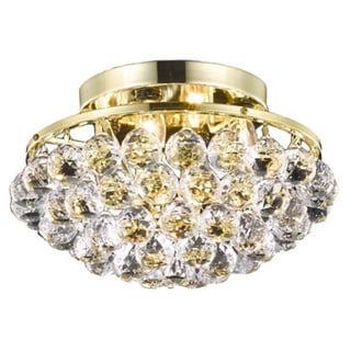 Somette Gold 4-Light Chandelier