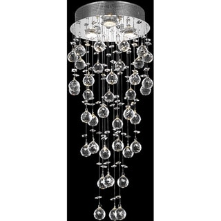 Somette 3-light Chrome Chandelier