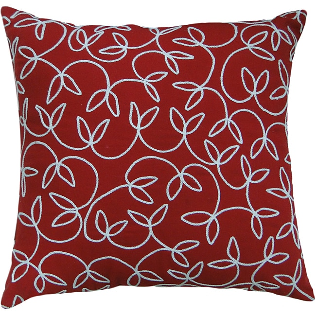 Jovi Montgomery Red Decorative Pillow - Thumbnail 0