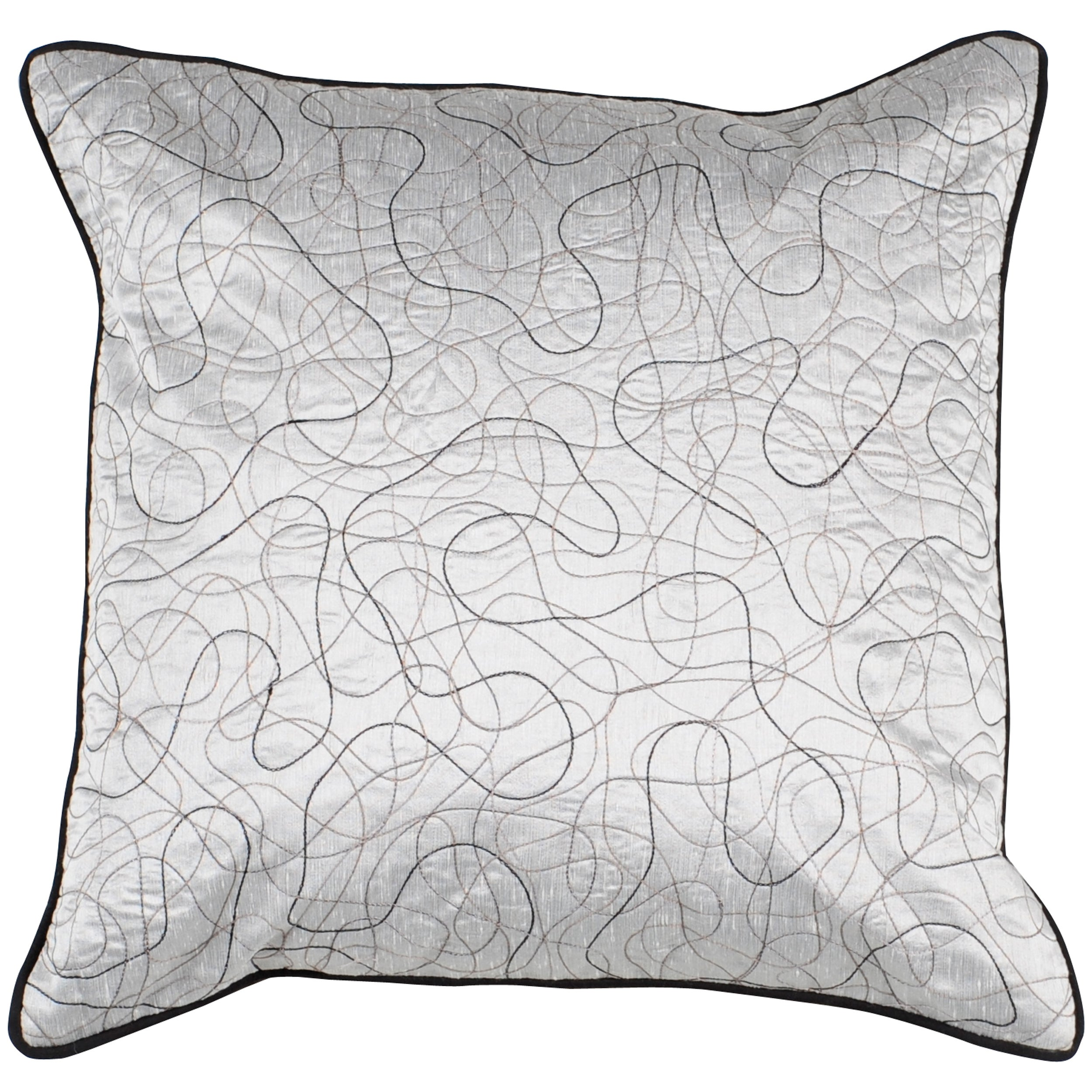 Decorative Topstitched Pro 18x18 Down Pillow