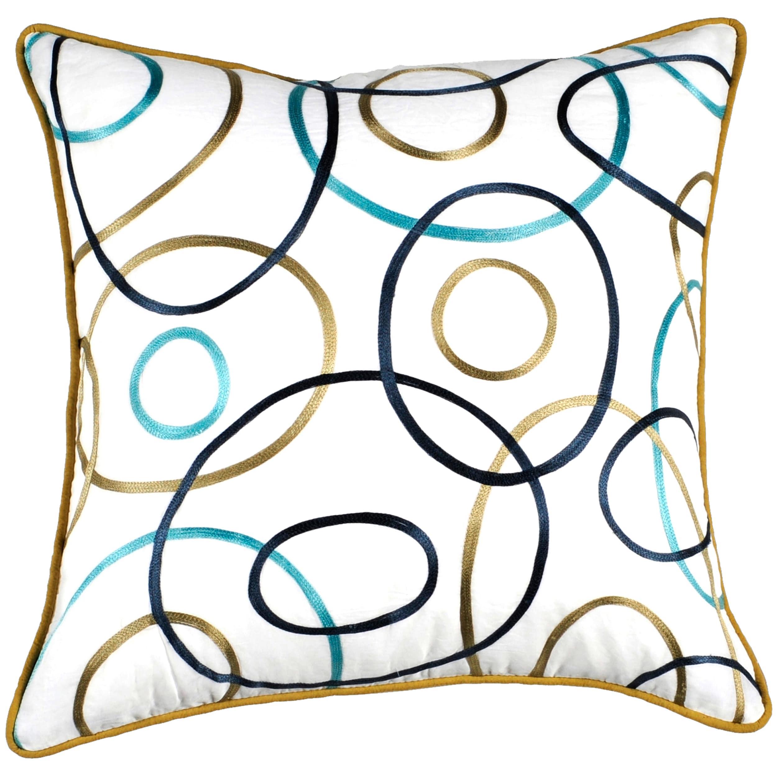 Decorative Princess 19x19 Down Pillow