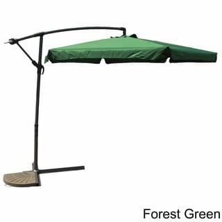 International Caravan Three-Meter Cantilever Crank Umbrella with Flaps