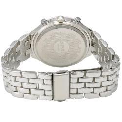 August Steiner Women's Swiss Quartz Multifunction Bezel Pink Watch