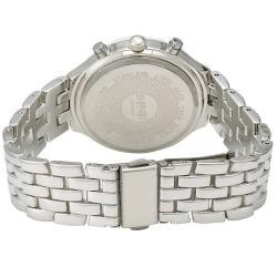 August Steiner Women's Swiss Quartz Multifunction Ceramic Bezel Mineral Crystal Watch - Thumbnail 1