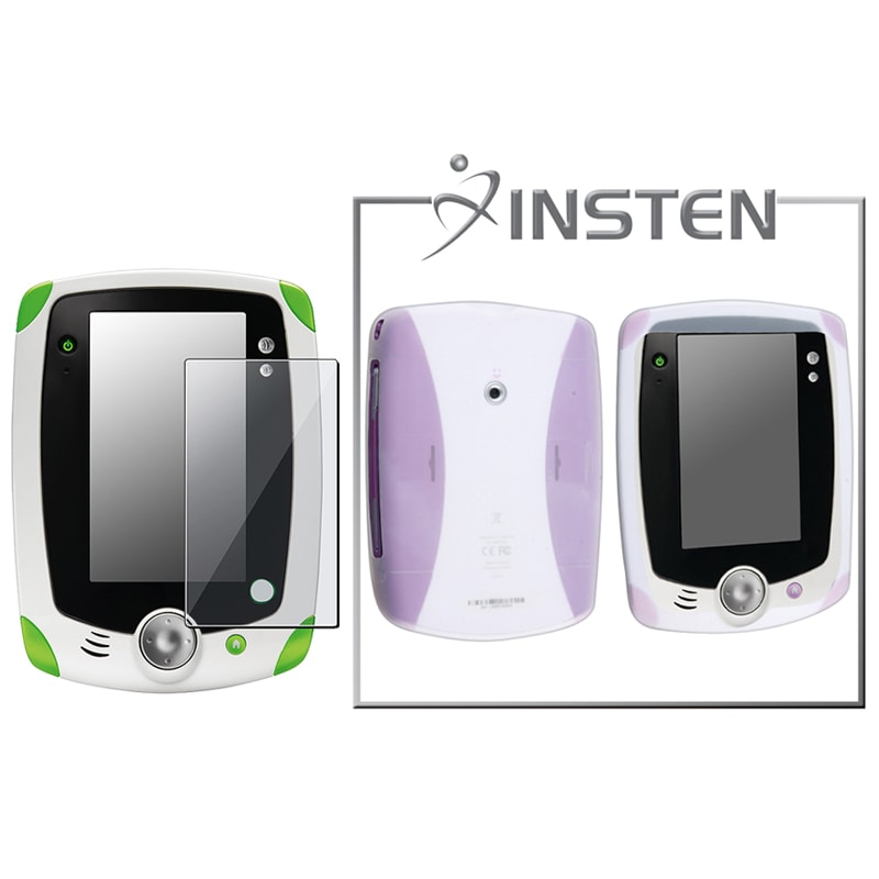 INSTEN Clear Phone Case Cover/ LCD Protector for LeapFrog LeapPad - Thumbnail 0