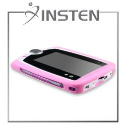 INSTEN Pink Phone Case Cover/ Screen Protector for LeapFrog LeapPad - Thumbnail 1