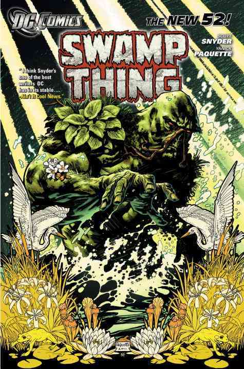 Swamp Thing 1: Raise Them Bones (Paperback) - Thumbnail 0