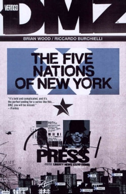 DMZ 12: The Five Nations of New York (Paperback)