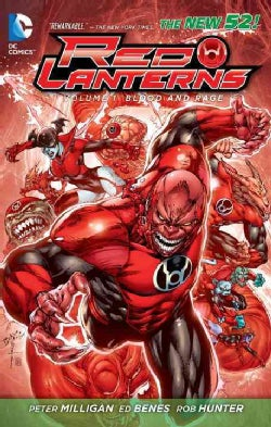 Red Lanterns 1: Blood and Rage (Paperback)