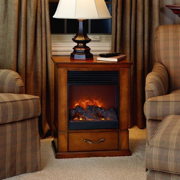 The Barrington 'Real Flame' Electric Fireplace