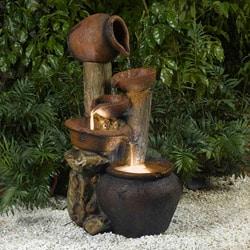 Pentole Pot Illuminated Water Fountain
