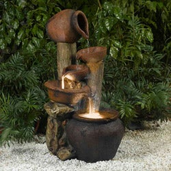 Pentole Pot Illuminated Water Fountain