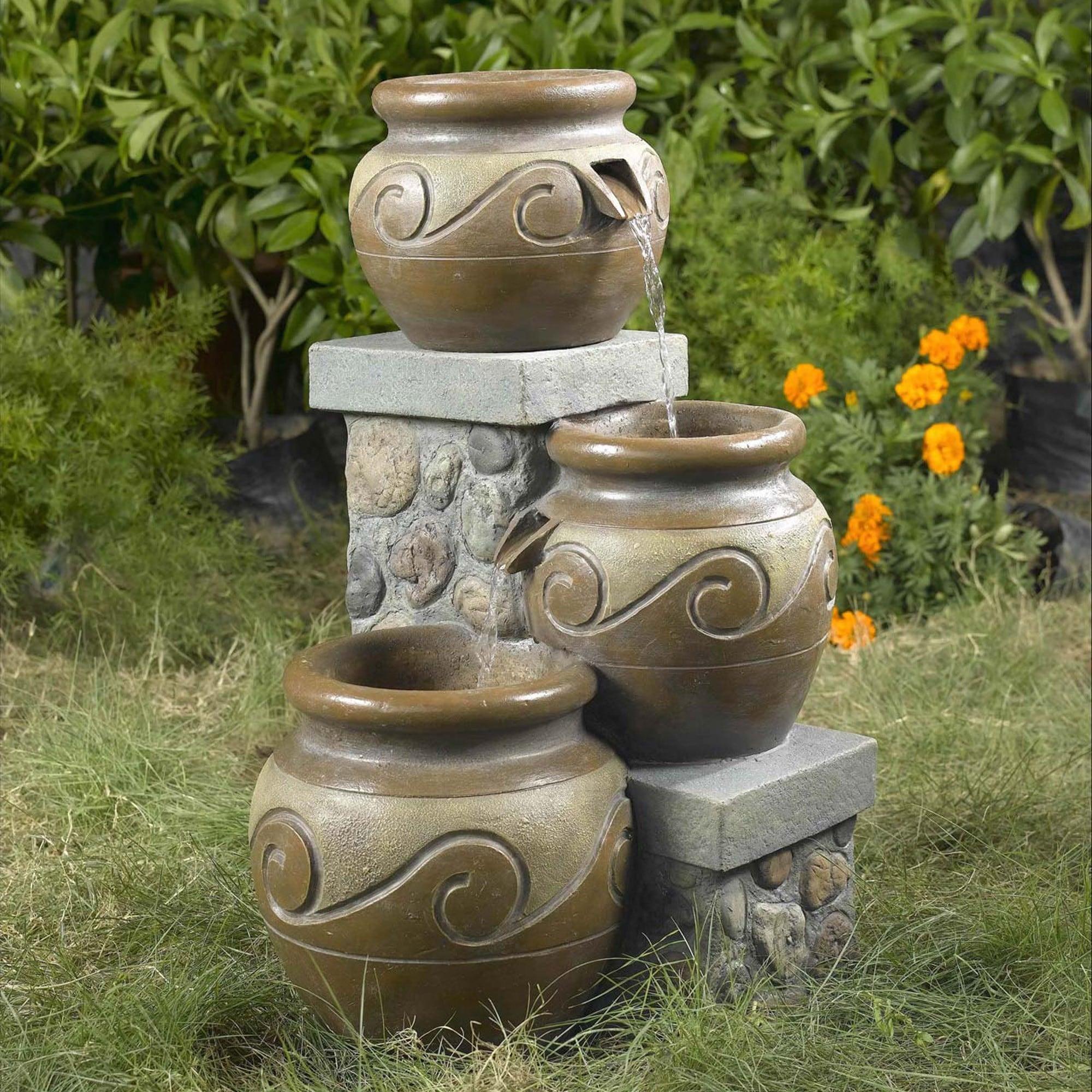 Venice Muti Pot Water Fountain Overstock 6430457