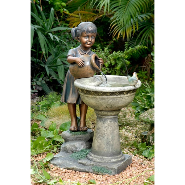 Versando Pouring Girl Water Fountain