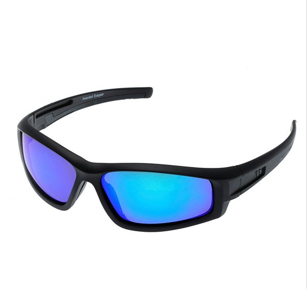 2d437c5ef3f7 Shop Chilis Men's 'Solvent' Polarized Wrap Sunglasses - Free ...