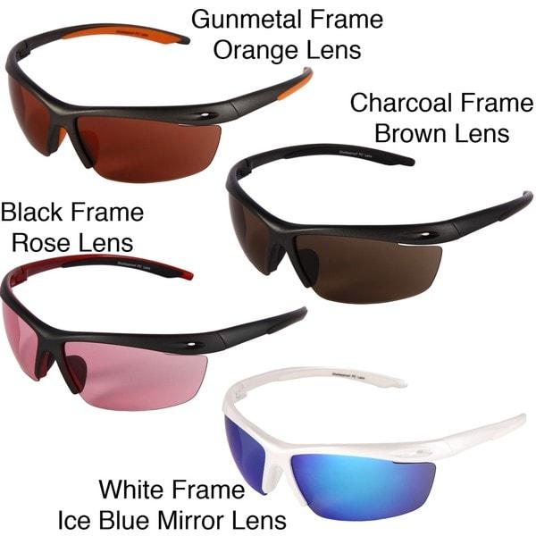 Chili's Men's 'Wish Bone' Shield Sunglasses