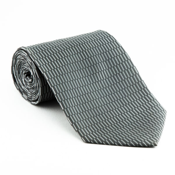 Platinum Ties Men's 'Silver Link' Necktie