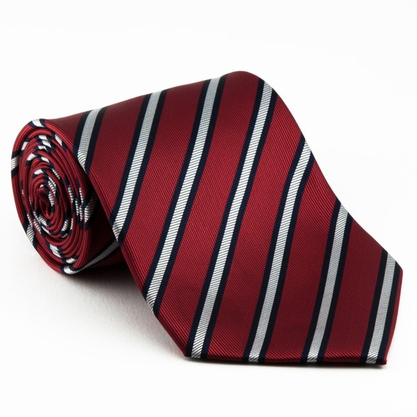 Platinum Ties Men's 'Red Power' Tie Necktie