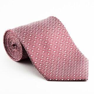 Platinum Ties Men's 'Red Matrix' Necktie