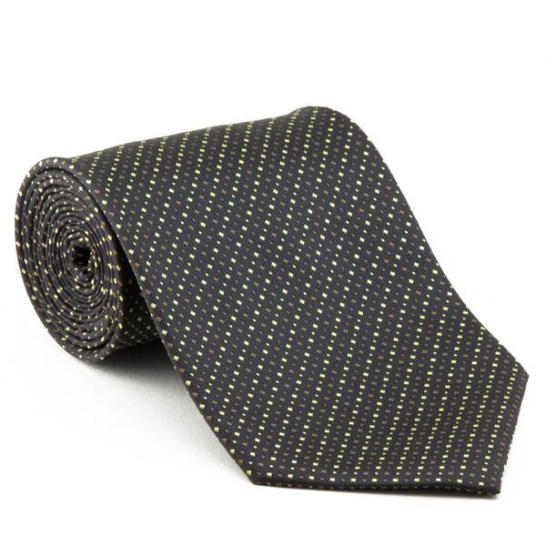 Platinum Ties Men's 'Gray Mix' Necktie