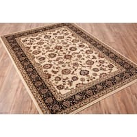 Concord Global Jewel Marisa Ivory Rug - 7'10 x 9'10