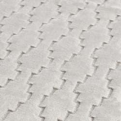 Safavieh Handmade Mirage Modern Grey Viscose Rug (2' x 8') - Thumbnail 2