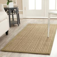 "Safavieh Casual Natural Fiber Dream Green Sisal Rug - 2'6"" x 8'"